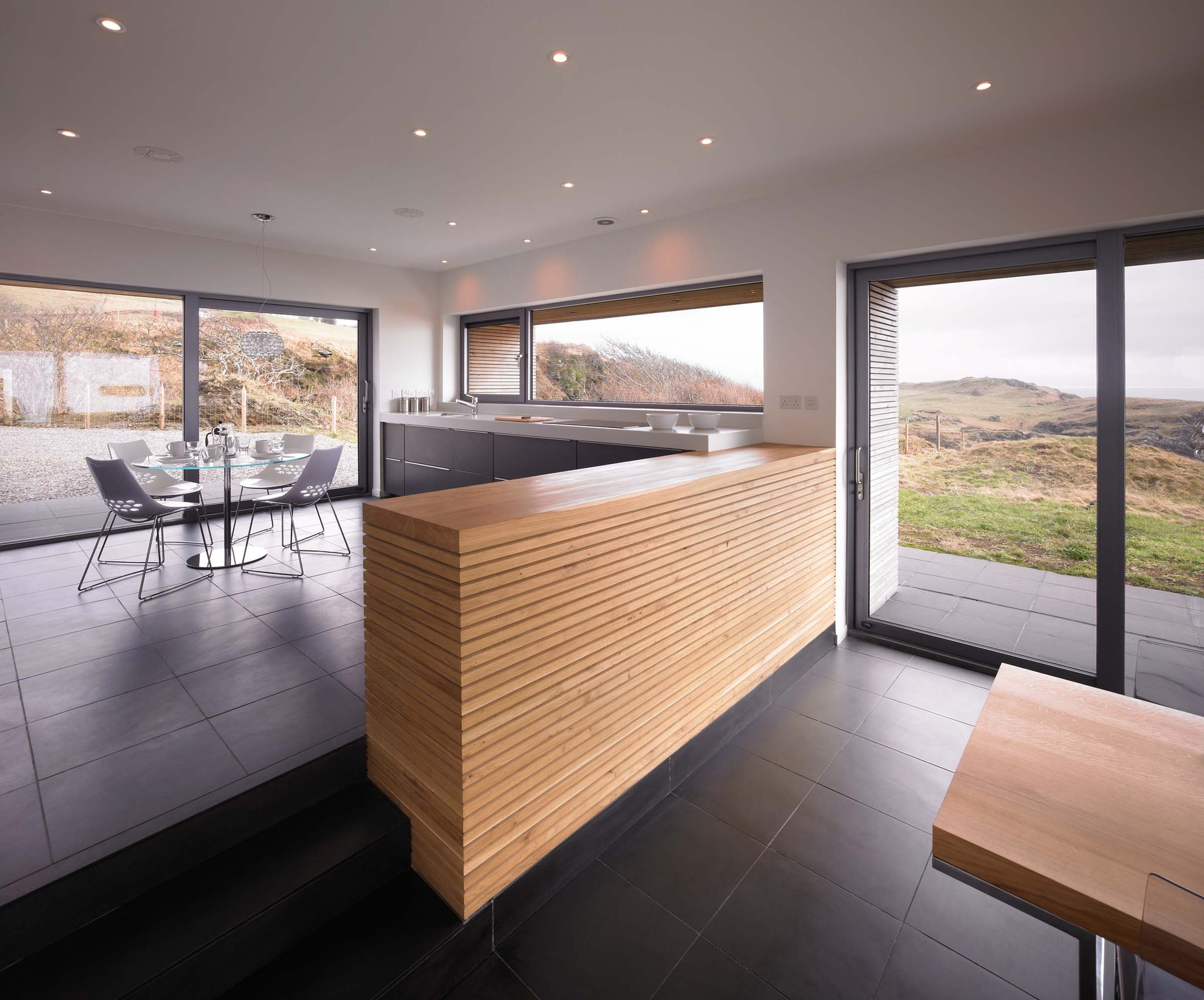 Gallery of tigh port na long dualchas architects 13 for Luxury kitchens scotland