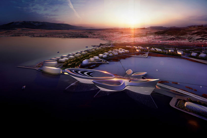 Izmir Selects Zaha Hadid as World Expo 2020 Architect, © Methanoia, Courtesy of ZHA