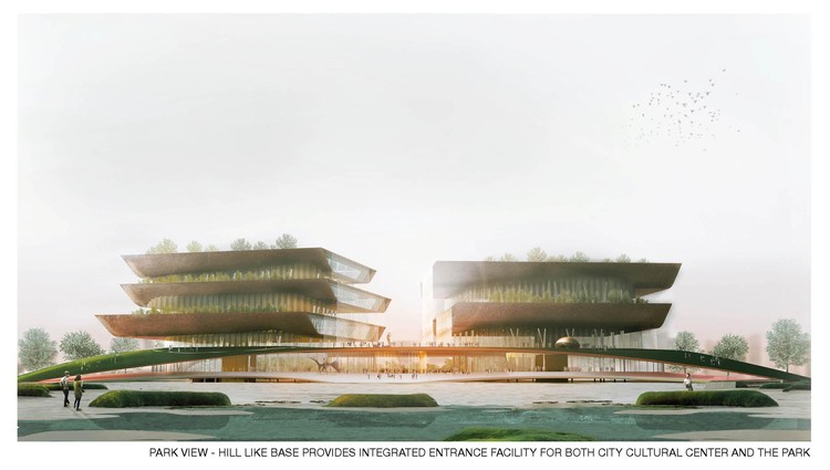 Taichung Cultural City Center Competition Entry / de Architekten Cie., Courtesy of de Architekten Cie.