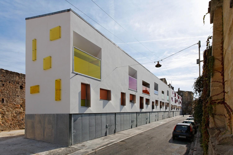 12 Maisons de Ville / Agence Bernard Bühler, © Vincent Monthiers