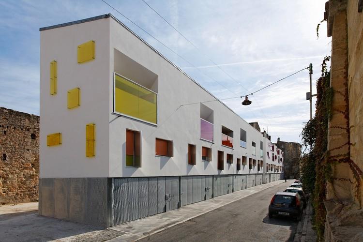 12 Viviendas de Villa / Agence Bernard Bühler, © Vincent Monthiers