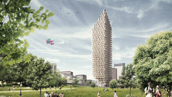 Wooden Skyscraper / Berg | C.F. Møller Architects with DinnellJohansson