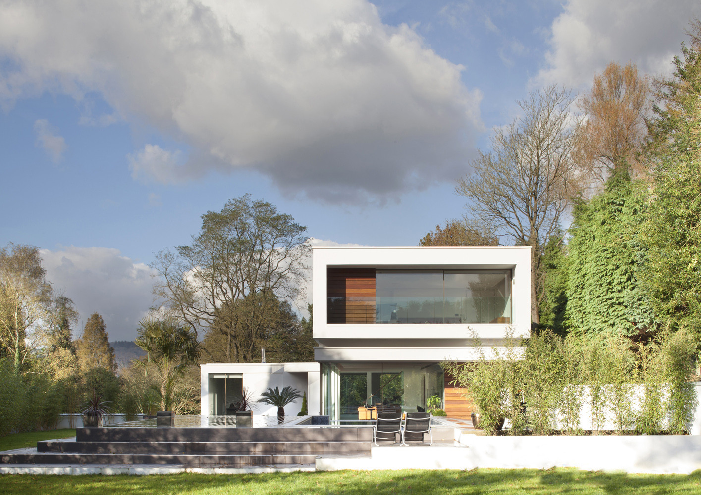 White Lodge Dyergrimes Architects Archdaily