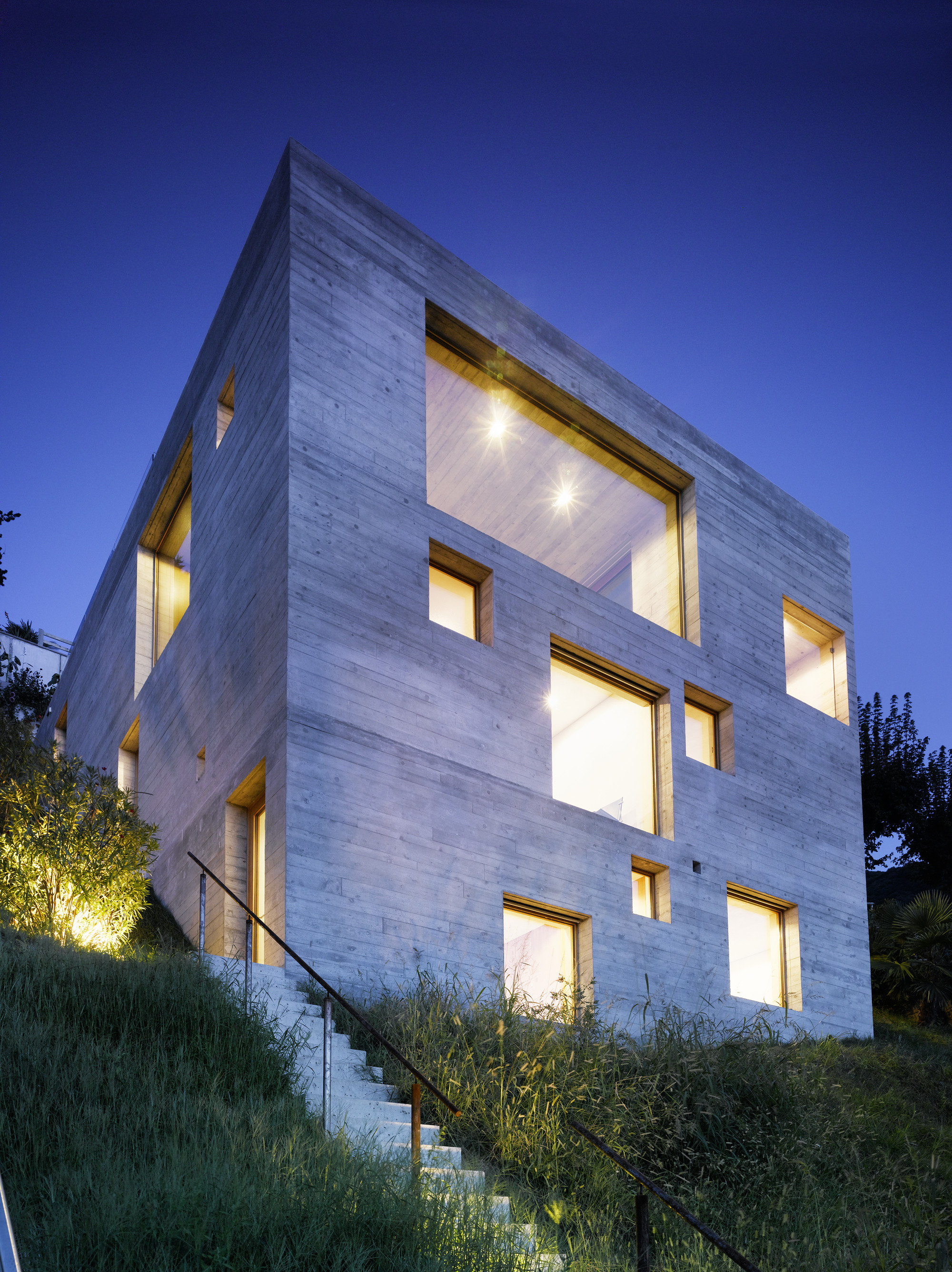 gallery of new concrete house wespi de meuron 8