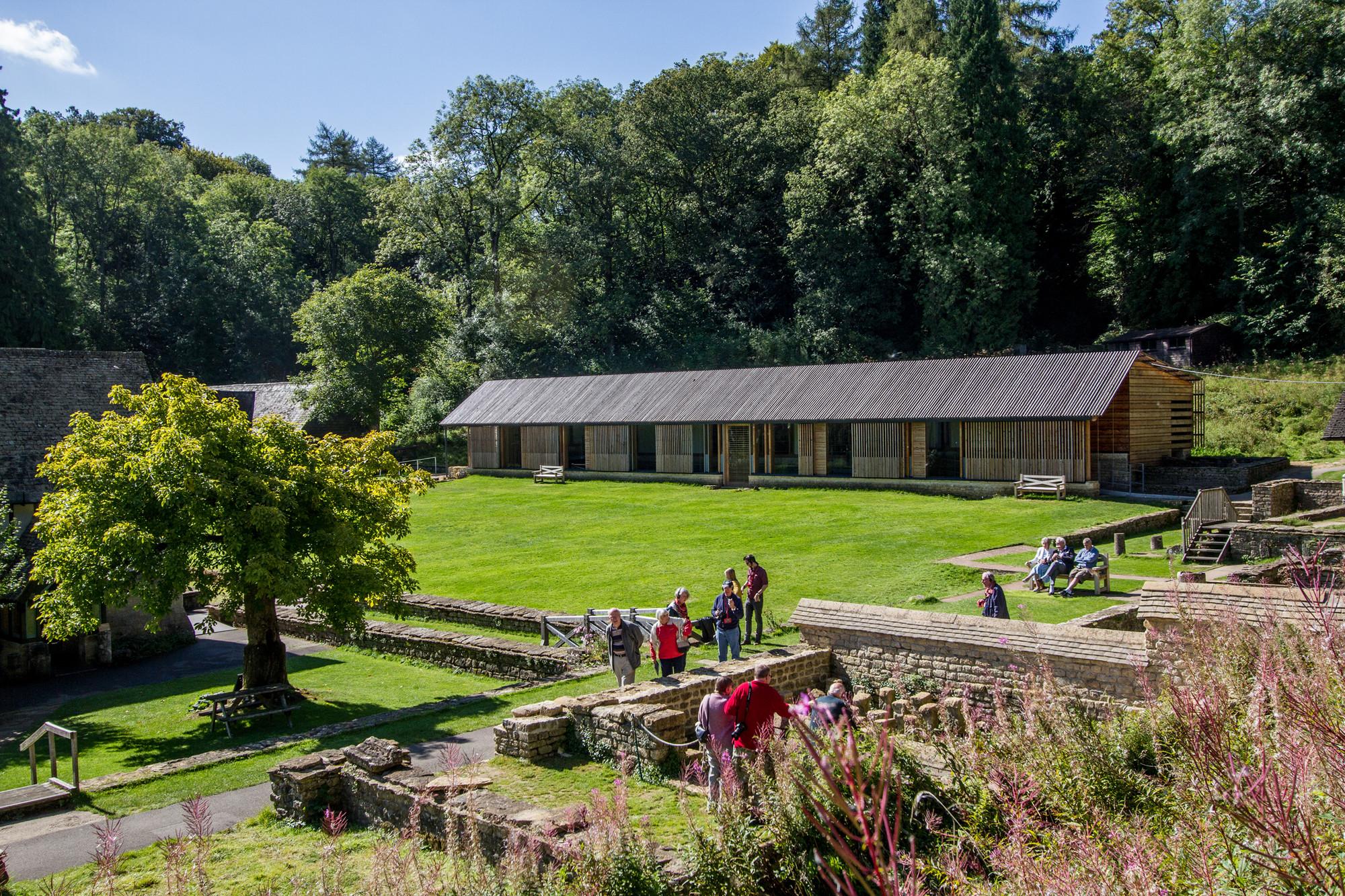 Chedworth Roman Villa, Yanworth, Gloucestershire by Feilden Clegg Bradley Studios © John Dawson