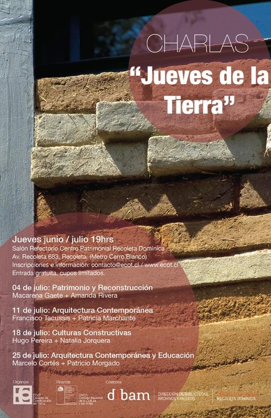 """Ciclo de Charlas """"Jueves de la Tierra"""" / Julio 2013"""