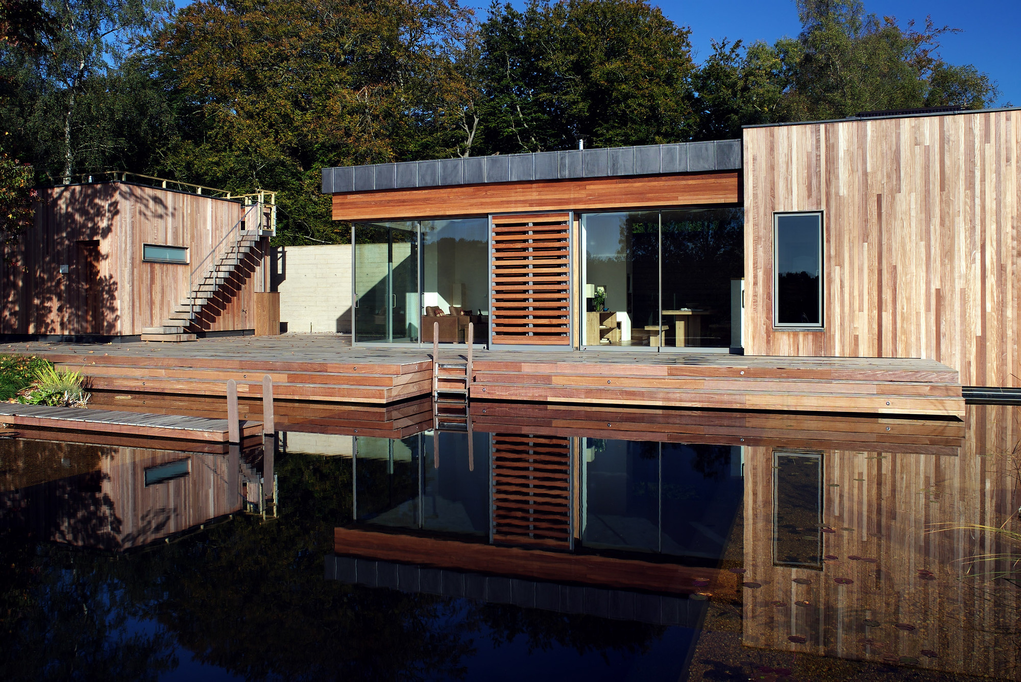 New forest housecourtesy of pad studio