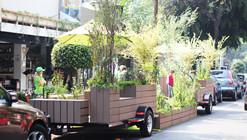 Parklets - Una nueva alternativa de espacio público en la ciudad / Fundacion Espacios + DAS Arquitectura