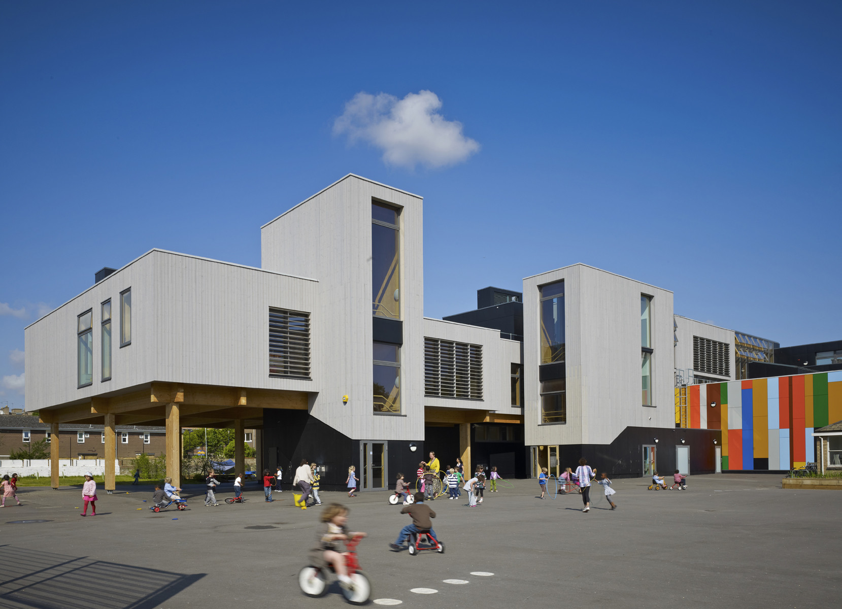 Lauriston School, Rutland Road, E9 by Meadowcroft Griffin/MLA © Tim Soar