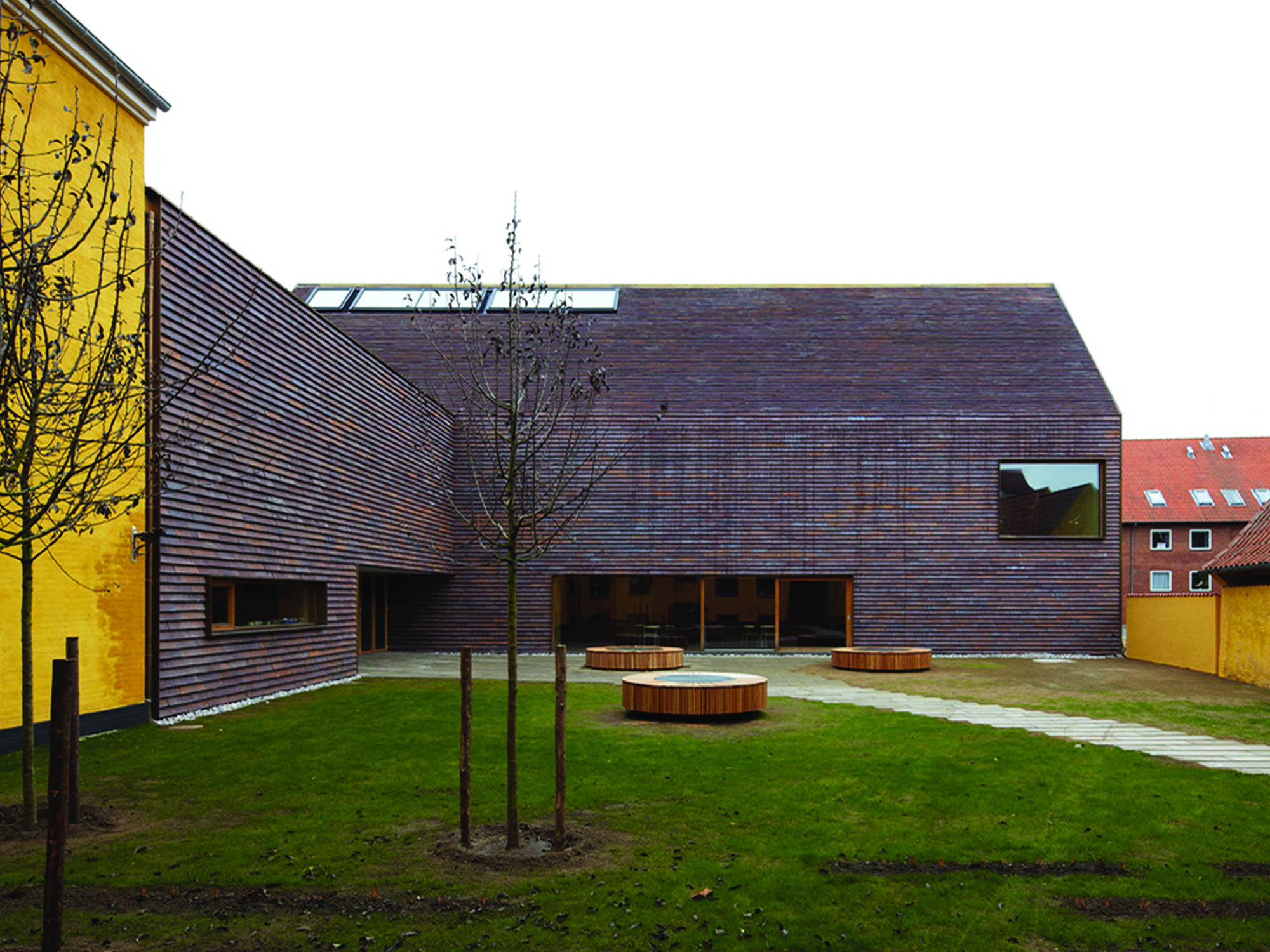 Sorø Art Museum, Denmark by Lundgaard & Tranberg Architects © Anders Suneberg