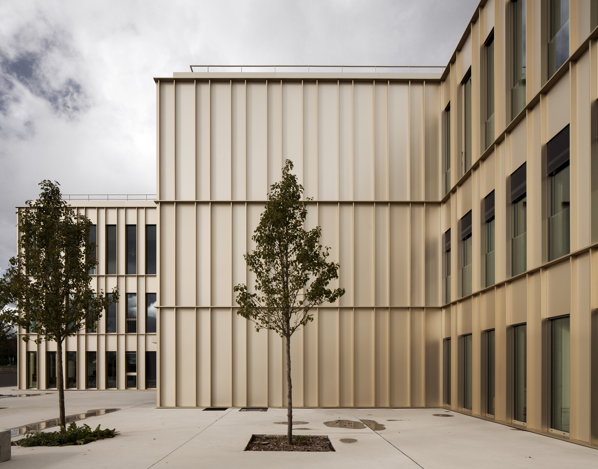 MBA Building, Ecole des Hautes Etudes Commerciales, Paris, France by David Chipperfield Architects © Simon Menges