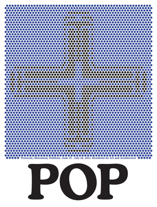 'POP: Protocols, Obsessions, Positions.' Exhibition