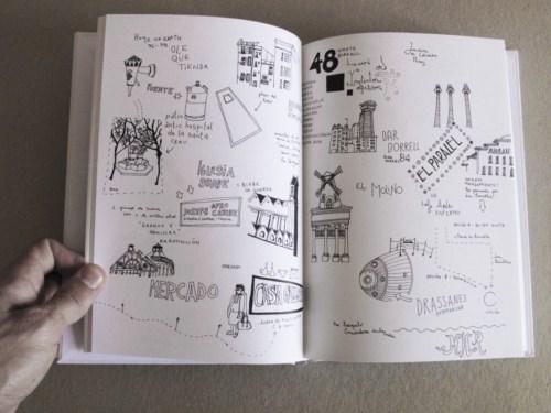 La guía de las rutas inciertas Cartografía de distintas derivas a través de Barcelona Clara Nubiola, autora en URBS nº 2(2)
