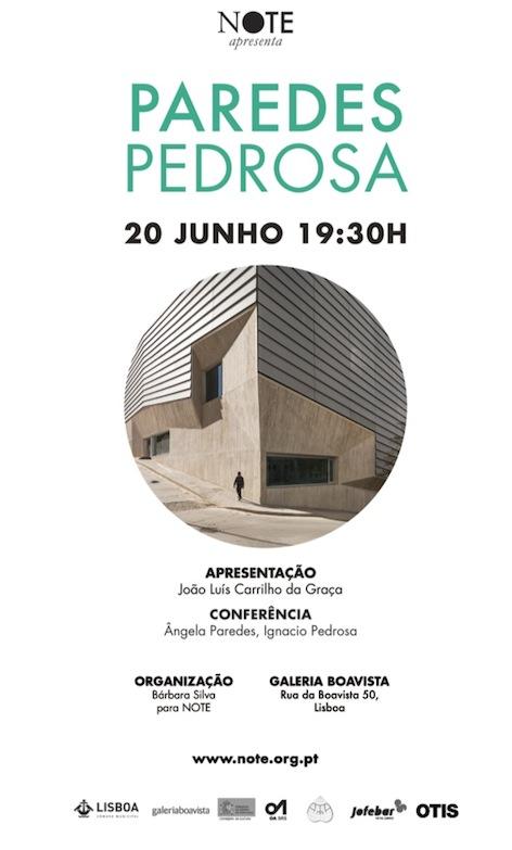 Exposición de PAREDES PEDROSA en Galeria Boavista