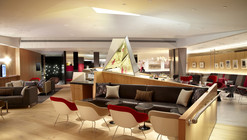 Virgin Atlantic EWR Clubhouse / Slade Architecture