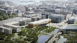 Helsinki Central Library Winning Proposal / ALA Architects