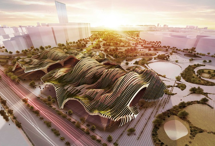 Taichung City Cultural Center Competition Entry / BAT (Bilbao Architecture Team), Courtesy of BAT (Bilbao Architecture Team)