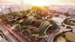 Taichung City Cultural Center Competition Entry / BAT (Bilbao Architecture Team)