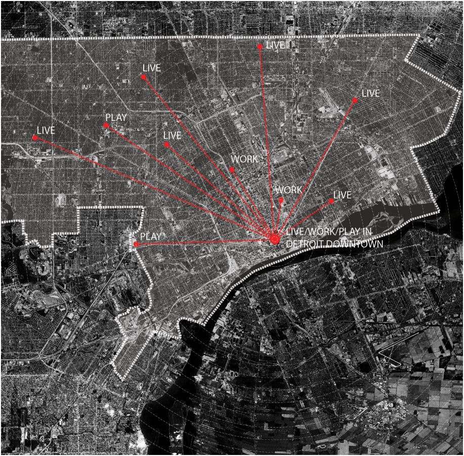 recollecting Detroit diagram