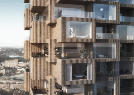 OMA gana concurso para construir dos torres de edificios en Estocolmo, © bloomimages