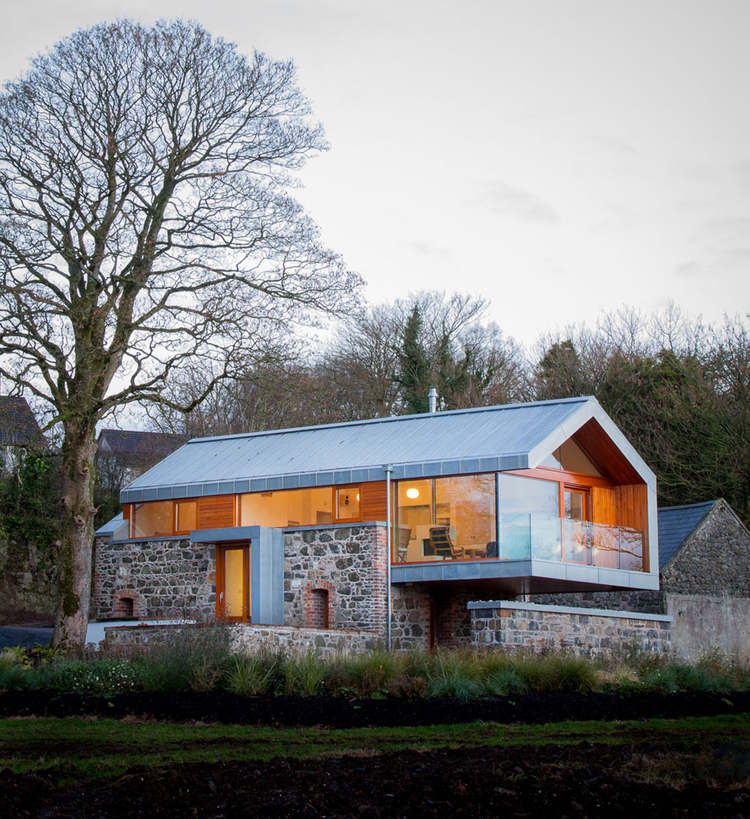 Granero Loughloughan / McGarry-Moon Architects, © Adam Currie