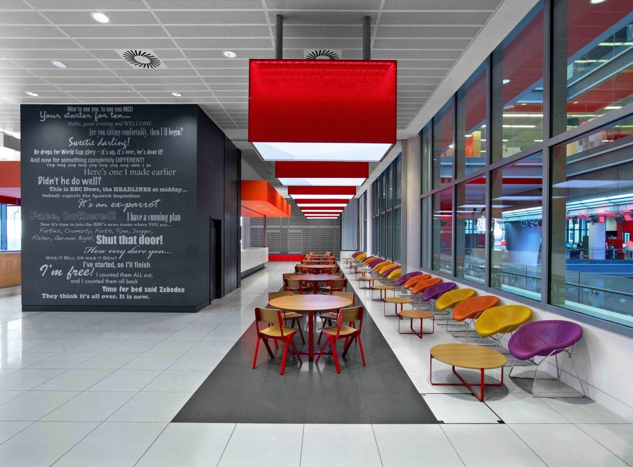 Gallery of bbc new broadcasting house hok maccormac for Swedish furniture london
