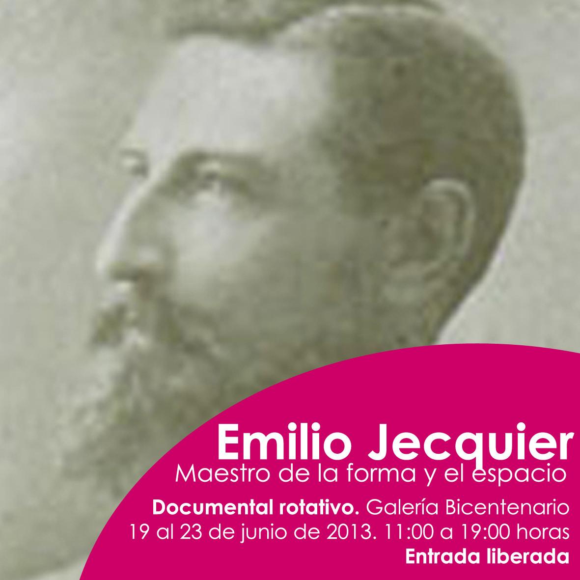 Documental Emilio Jecquier en Centro Cultural Estación Mapocho