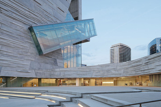 Perot Museum of Nature and Science designed by the 2013 Gold Medal Award Winner: Thom Mayne of Morphosis