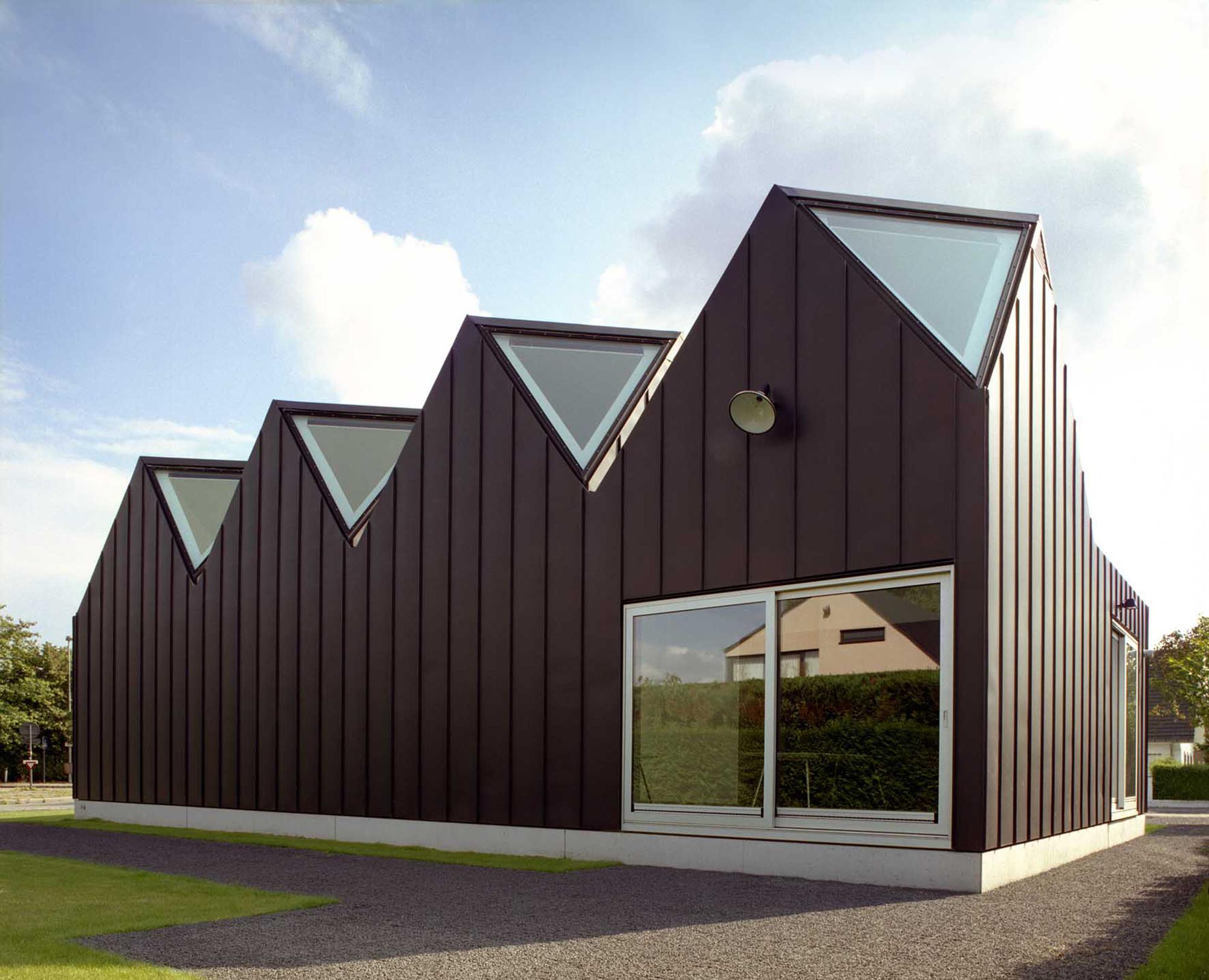Linq nu architectuuratelier archdaily for Architecture zinc