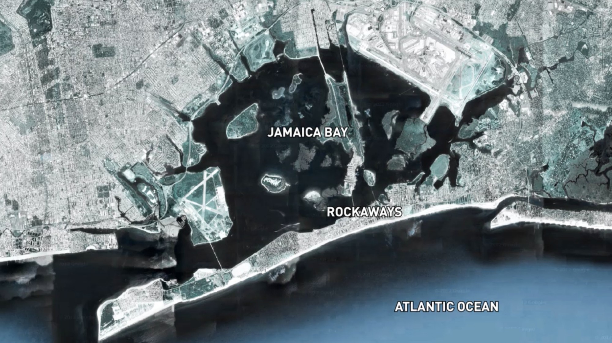 Jamaica Bay satellite developed