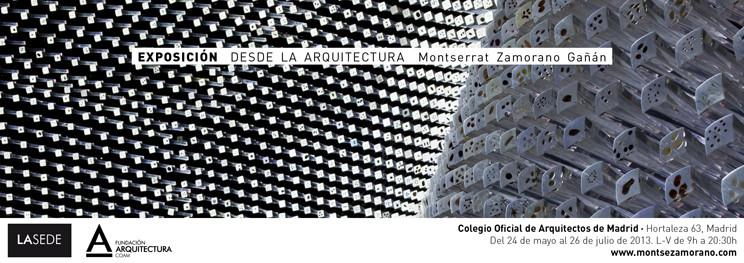 Exposición fotografía DESDE LA ARQUITECTURA / Colegio Oficial de Arquitectos de Madrid, COAM, © Montse Zamorano