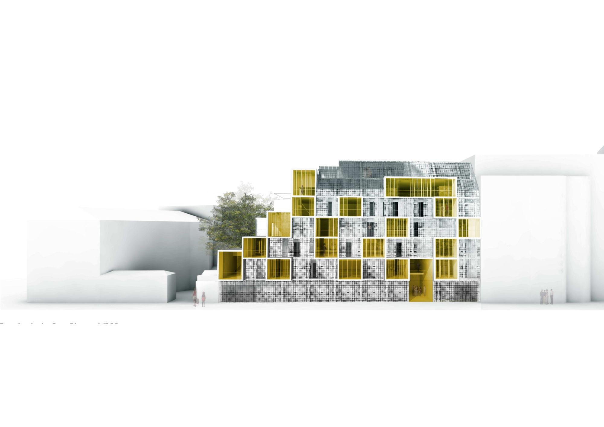 gallery of plein soleil rh architecture 33. Black Bedroom Furniture Sets. Home Design Ideas