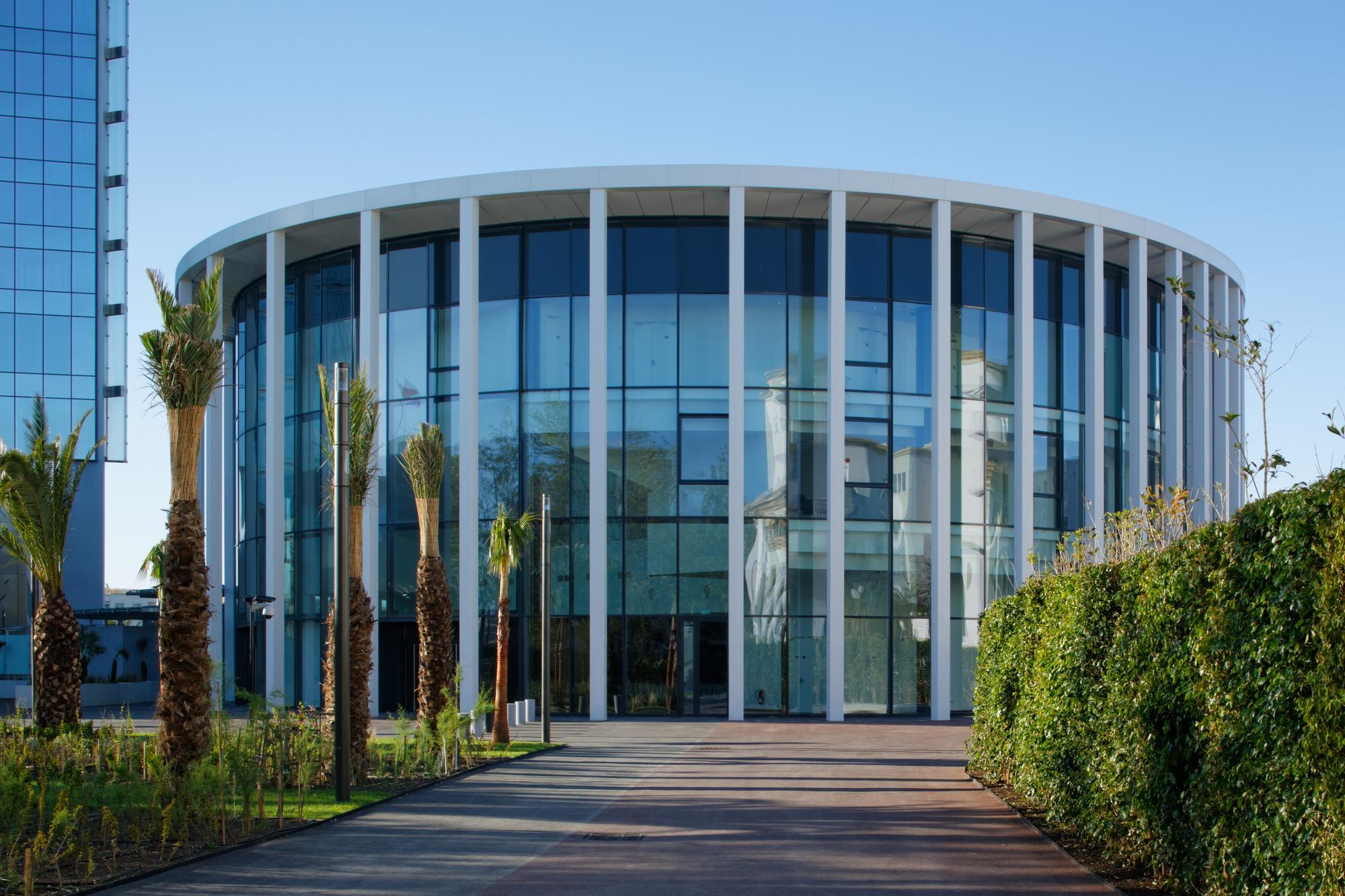 Gallery of maroc telecom jean paul viguier architecture 3 for Architecture marocaine