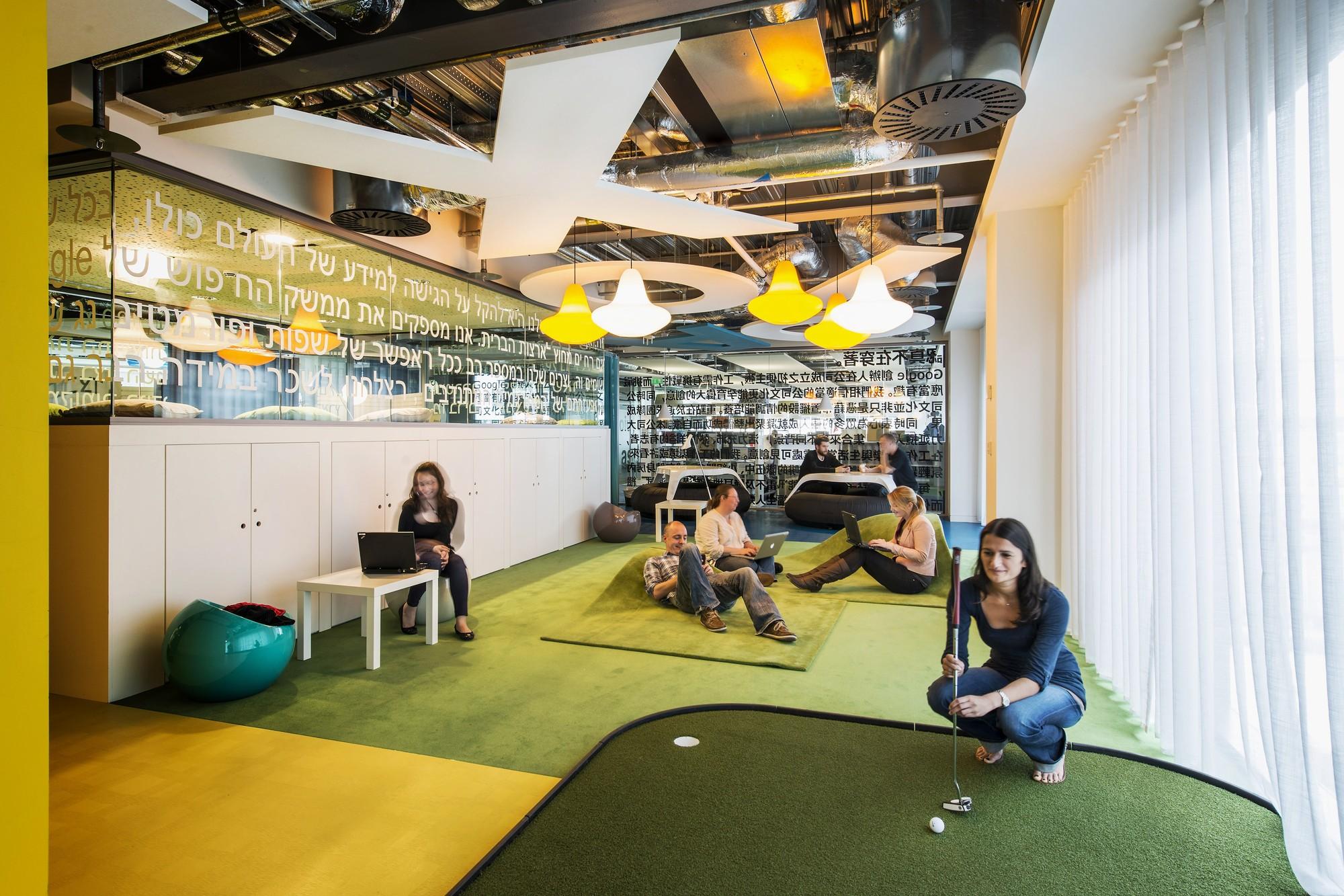 peter wurmli archdaily google tel aviv office