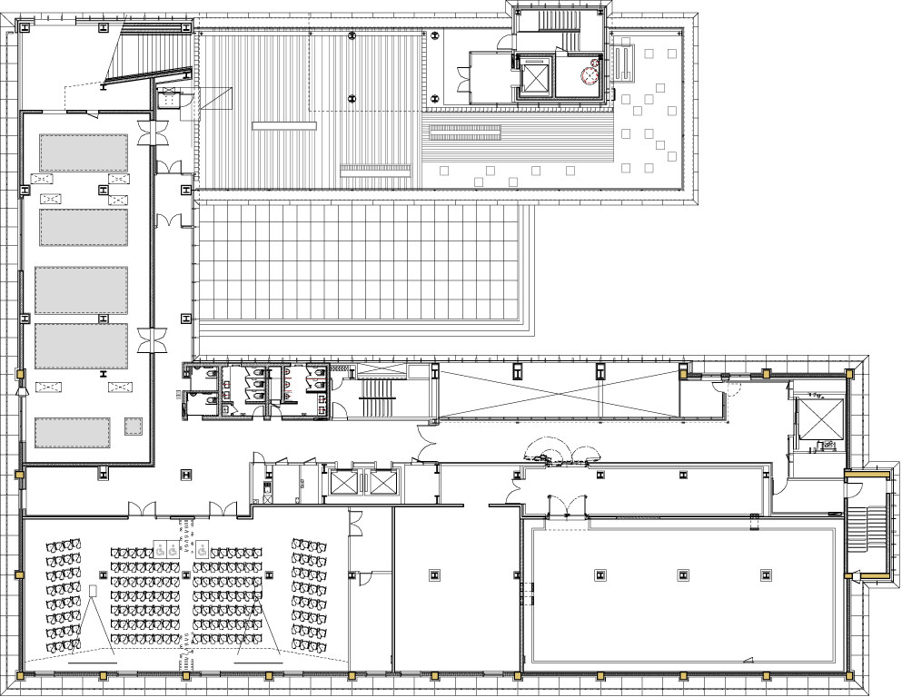 gallery architecture plan - photo #16
