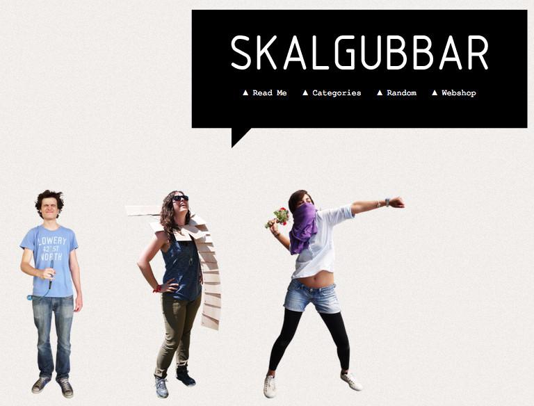 SKALGUBBAR: Descarga gratis siluetas de personas para tus renders