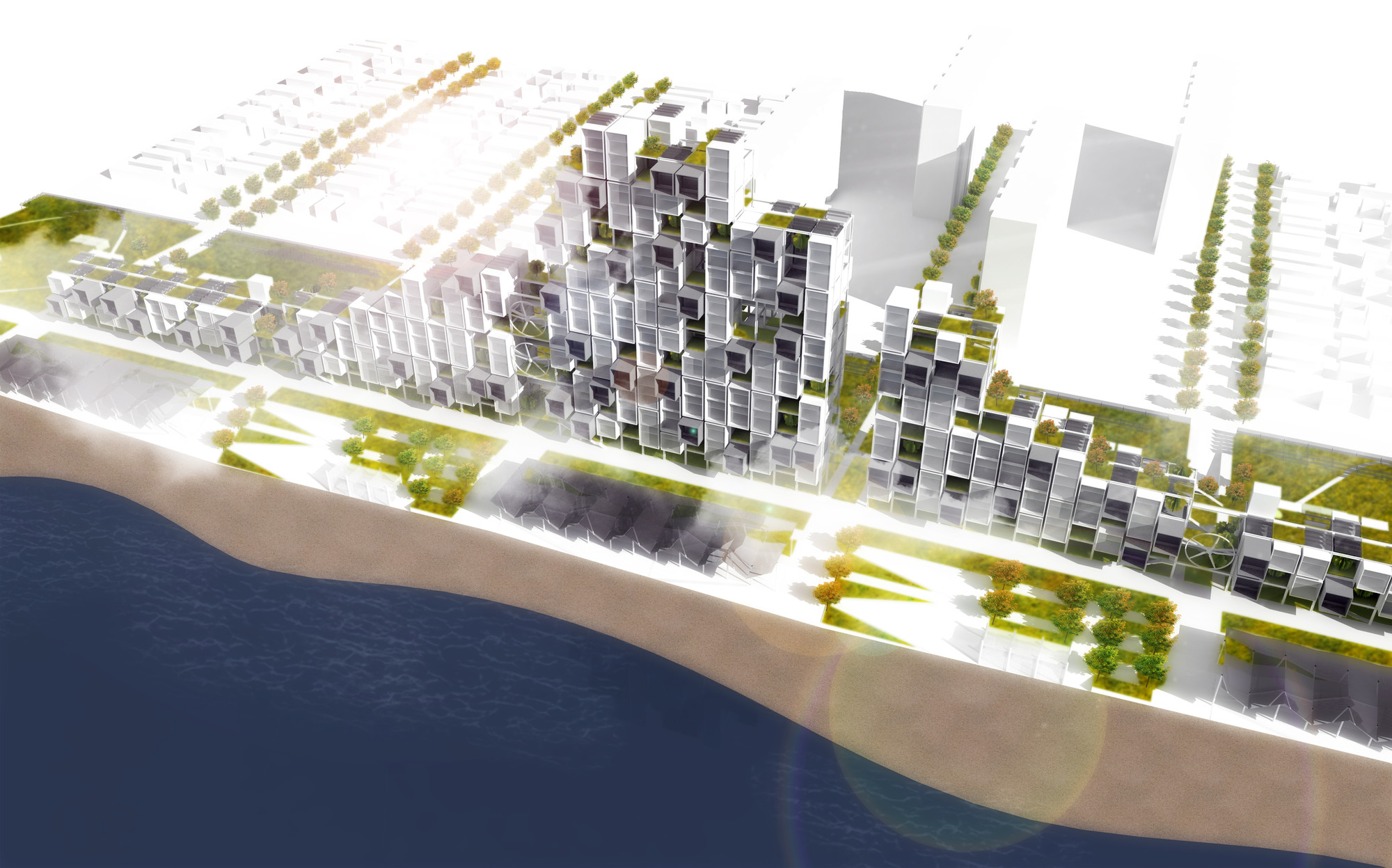 28+: MOMA PS1 Rockaway Call for Ideas Winning Proposal / Michael Sorkin Studio, Courtesy of Michael Sorkin Studio