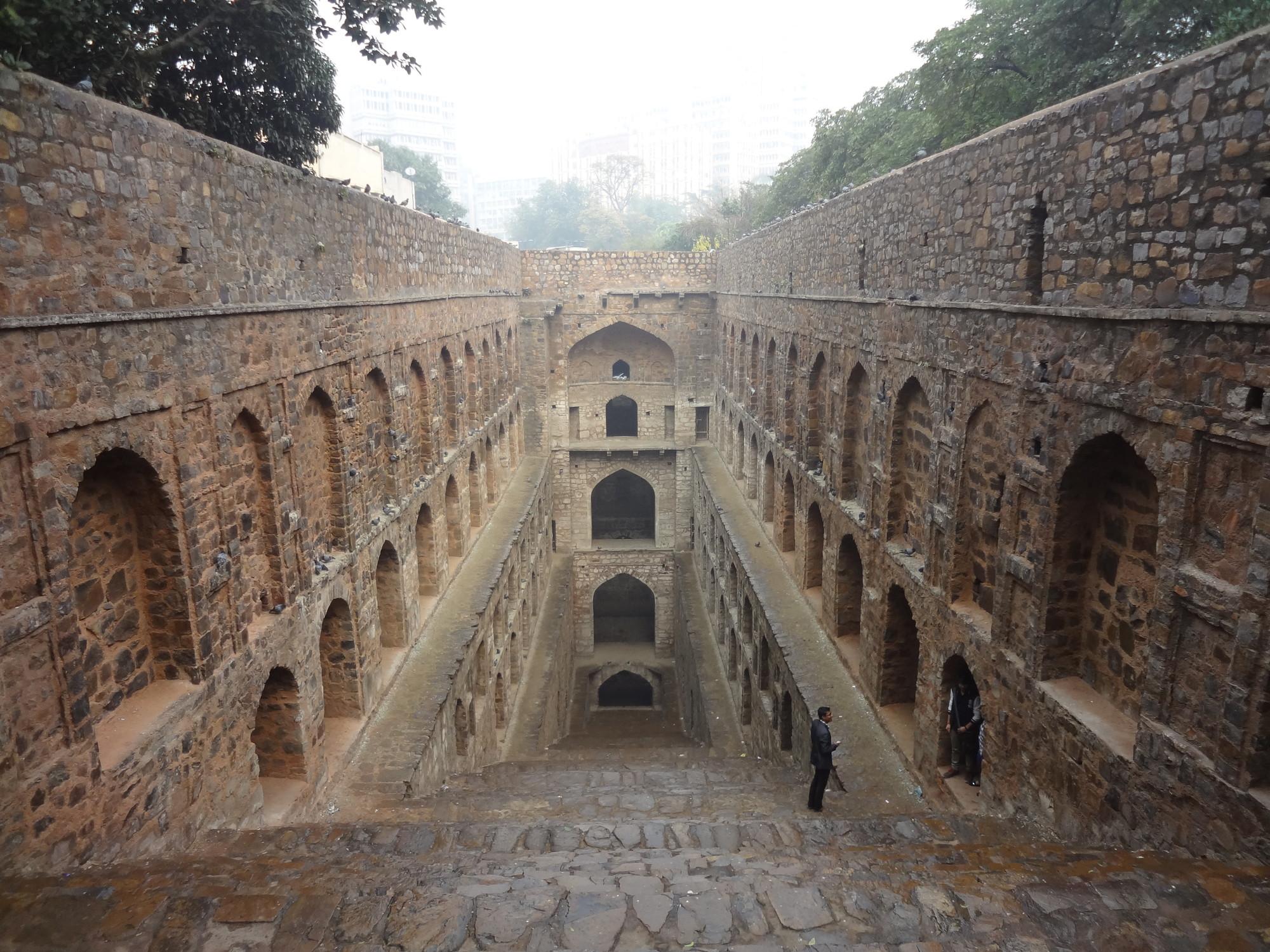 India's Forgotten Stepwells, Agrasen ki Baoli, Delhi. Image ©Victoria S. Lautman