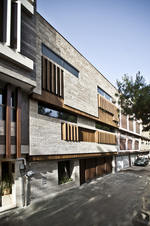 Vivienda en Isfahan / Logical Process in Architectural  Design Office, © F. Nasrabadi