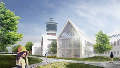 Toender City Hall Extension Competition Entry / HAO (Holm Architecture Office) + Sebastian Misiurek