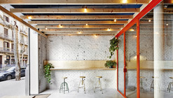Bar Oval / FLEXOARQUITECTURA
