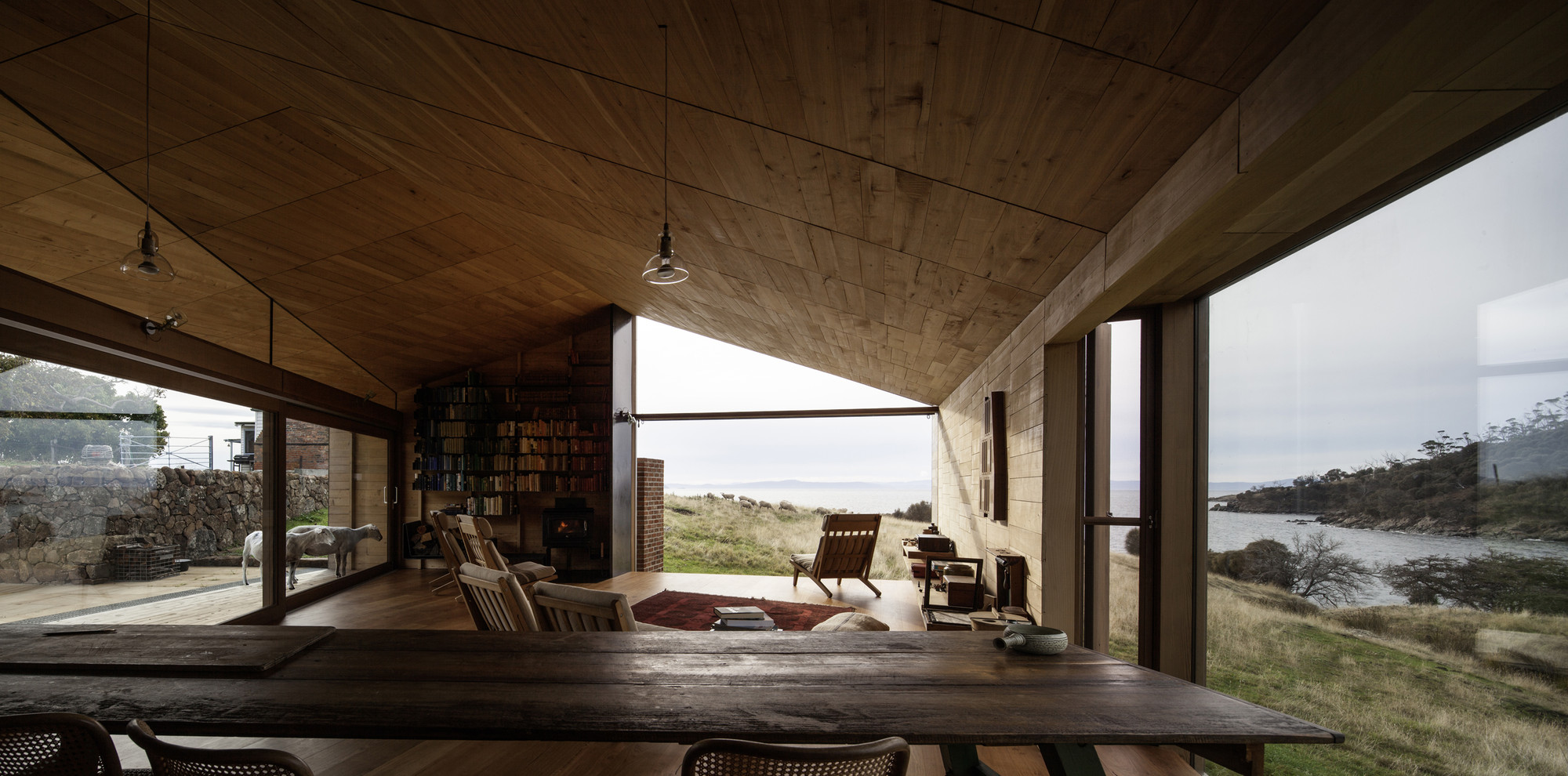 Gallery of shearers quarters house john wardle for Tasmanian home designs