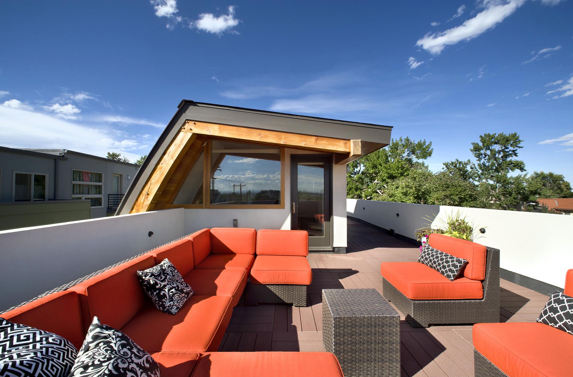 Проекты домов с плоской крышей: одноэтажные коттеджи с экспл.
