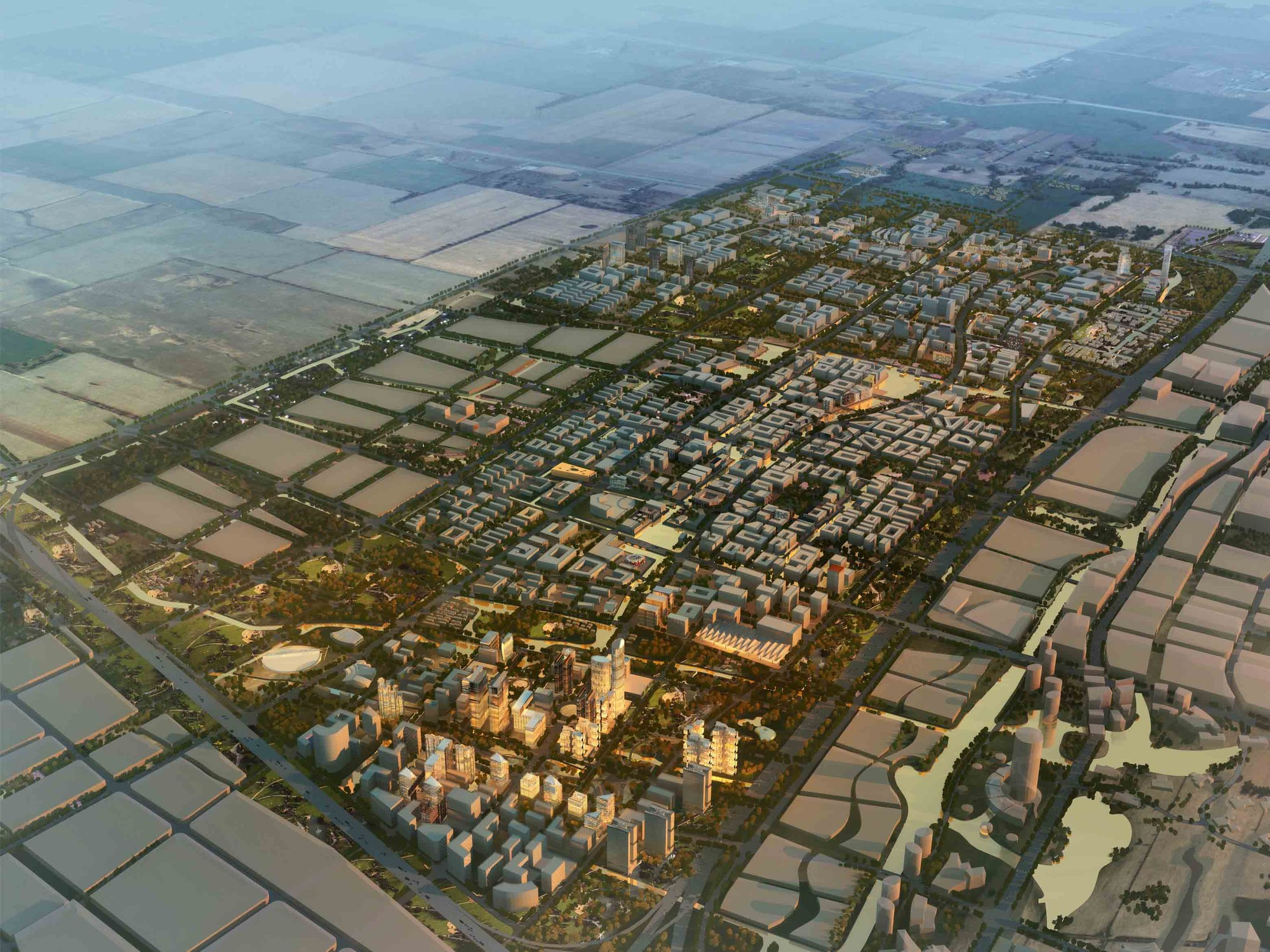 Madong Masterplan Winning Proposal / HYHW Architects, Courtesy of HYHW & Space Syntax