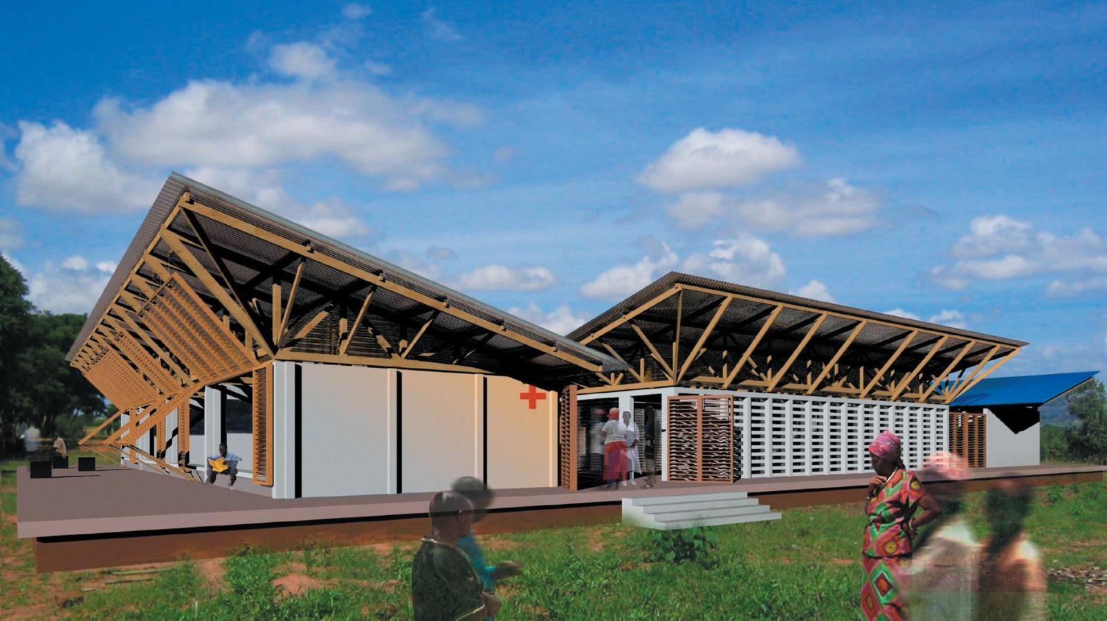 Centro Rural de Excelencia permitirá aumentar la esperanza de vida de los habitantes de Ipuli, Tanzania, © Tolila+Gilliland / Architecture For Humanity