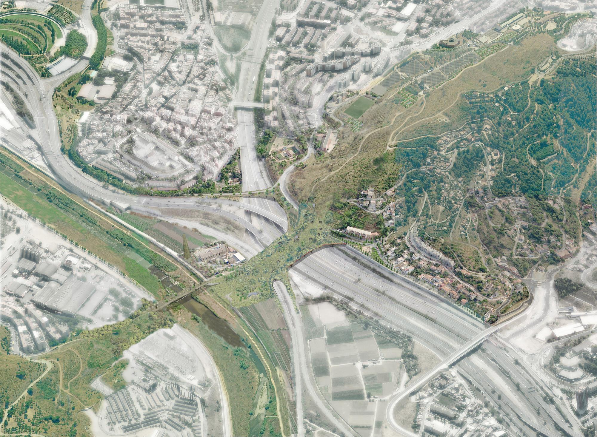 Proyecto 'e(CO)stratègia' de Sau Taller d'Arquitectura busca tejer flujos biológicos y urbanos de Barcelona, © Sau Taller d'Arquitectura