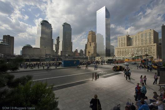 7 World Trade Center / SOM. Imagen ©Ruggero Vanni