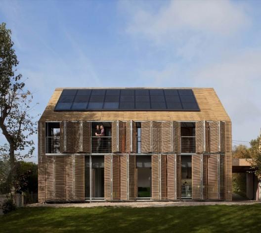 Casa Pasiva. Imagen Cortesía de Karawitz Architecture