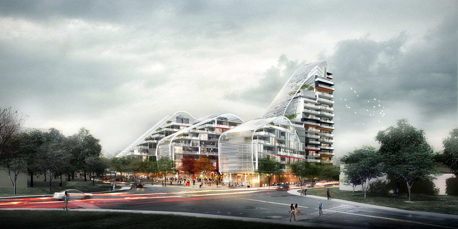 Bass and Flinders Gateway Project Proposal / Spark Architects, Courtesy of Spark Architects