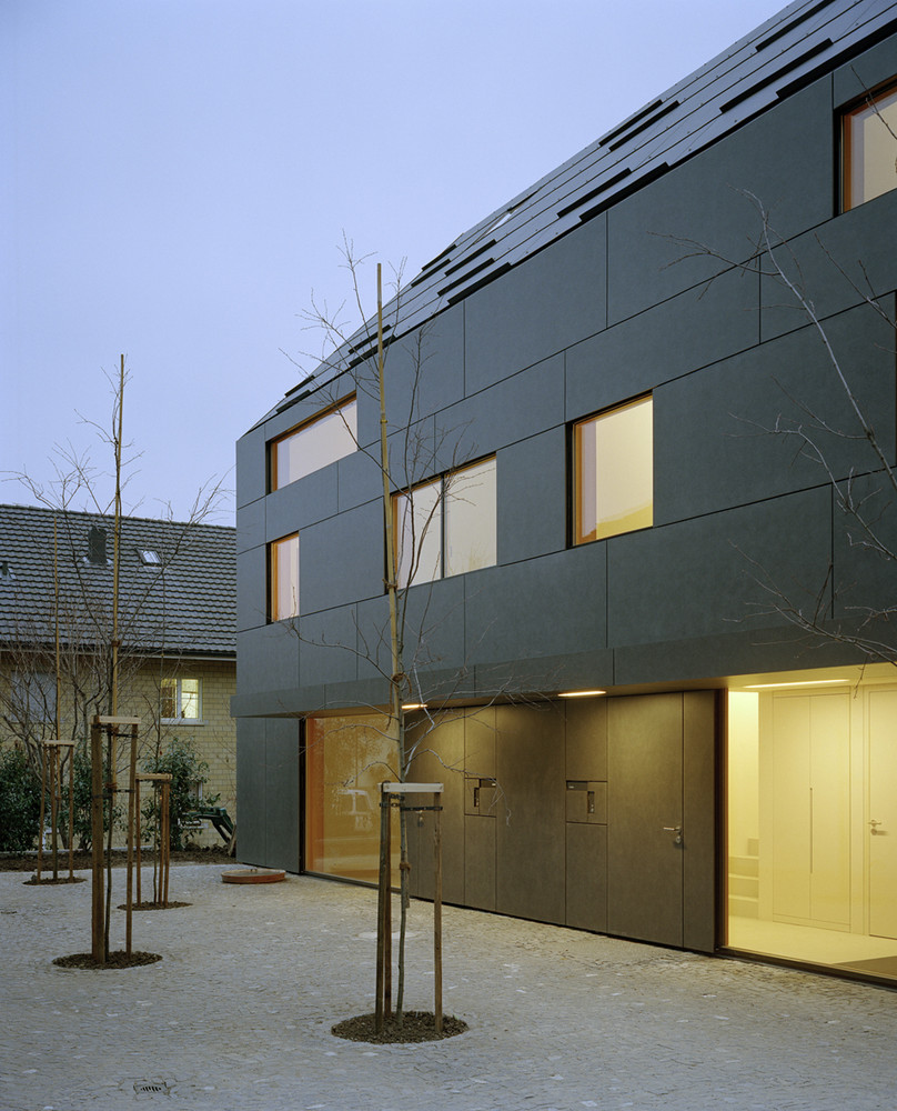 gallery of duplex house in k snacht rossetti wyss architekten 10. Black Bedroom Furniture Sets. Home Design Ideas